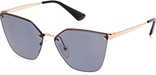 PRADA Womens 0PR68TS 7OE5Z1 63 Sunglasses, Antique Gold/Polargrey
