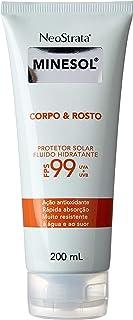 Neostrata Minesol Corpo & Rosto Fluído Hidratante Antioxidante FPS99, 200ml