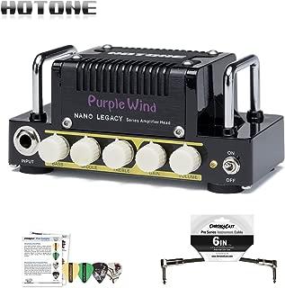 Hotone Nano Legacy Purple Wind Class AB Guitar Amplifier w/ Picks & Patch Cable