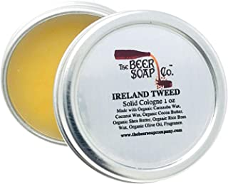 Ireland Tweed Solid Cologne by The Beer Soap Company 1oz This Smells Like Green Irish Tweed by Creed -Sandalwood, Ambergri...