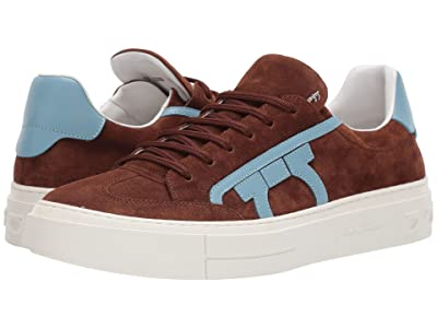 Salvatore Ferragamo Borg 2 Sneaker (Habana Brown) Men