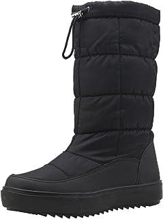 [Shenji] レディースブーツ スノーブーツ ロングブーツ 防寒防滑雪靴