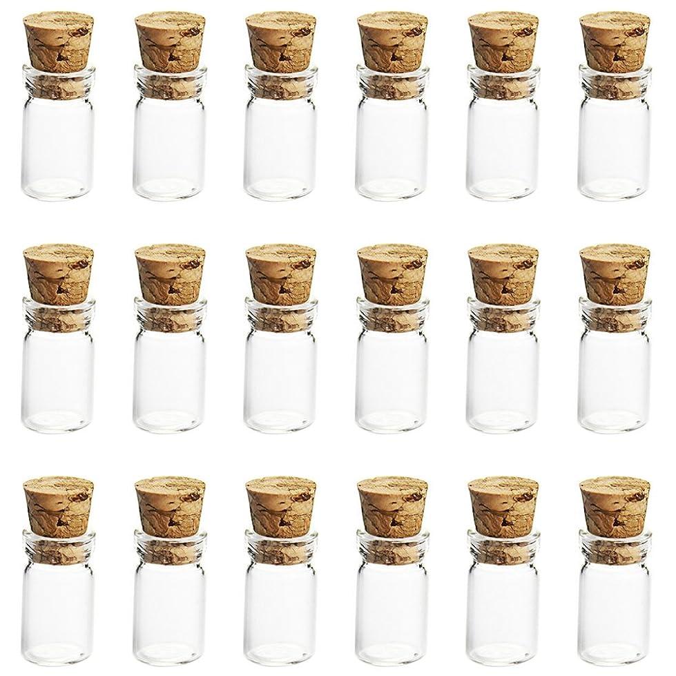 序文列車共和党ゴシレ Gosear 50 個 0.5ML ミニ 詰め替え 空のグラス 香水 エッセンシャル オイルのガラス 旅行 香水 ガラス 香水瓶 化粧水用瓶 バイアル瓶コンテナー と コルク栓