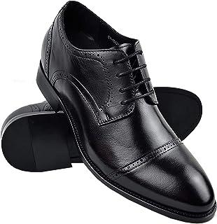 Zerimar Zapatos con Alzas Hombre| Zapatos de Hombre con Alzas Que Aumentan su Altura + 7 cm|Zapatos con Alzas para Hombre...