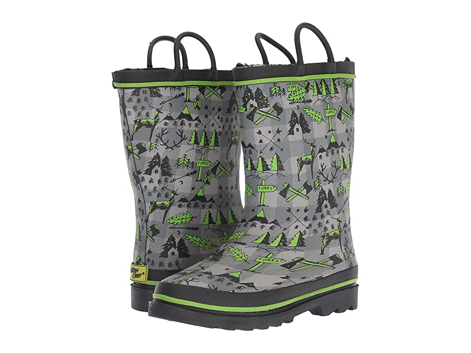 Western Chief Kids Limited Edition Fleece Lined Rain Boots (Toddler/Little Kid) (Lumberjack) Girls Shoes