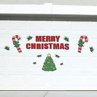 Festive Holiday Merry Christmas Garage Door Decoration 25 Piece Magnets Set