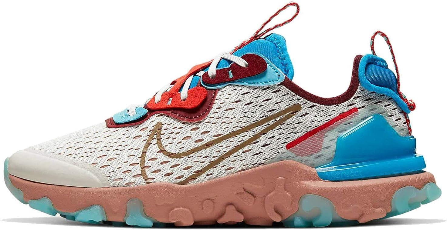 Amazon.com | Nike React Vision (gs) Big Kids Casual Running ...