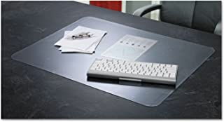 KrystalView Desk Pad with Microban, Matte, 17 x 12, Clear, Sold as 1 Each