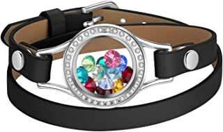 Best glass locket bracelet Reviews