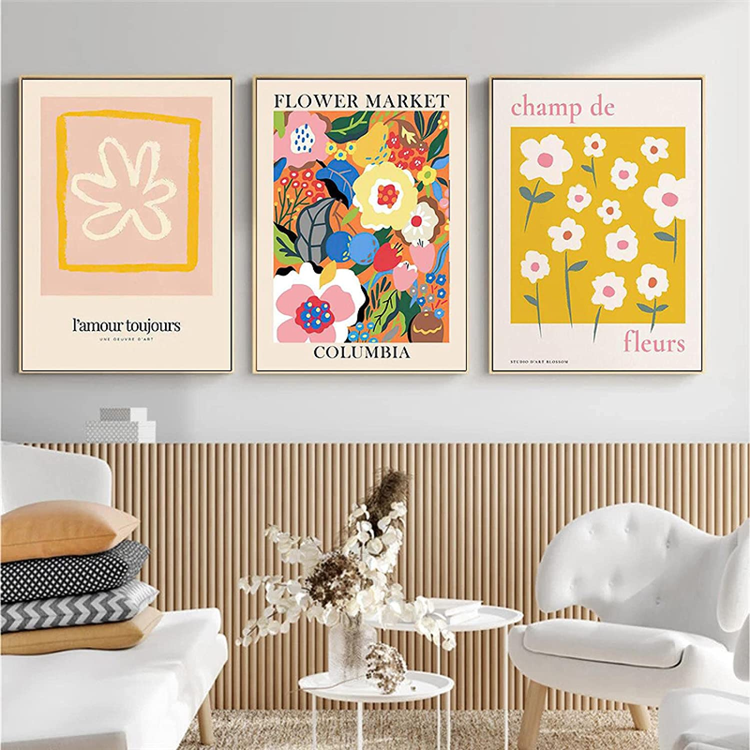Wall Pictures Matisse Vintage Abstract Colored Price reduction Nordic Wa Flowers High quality new