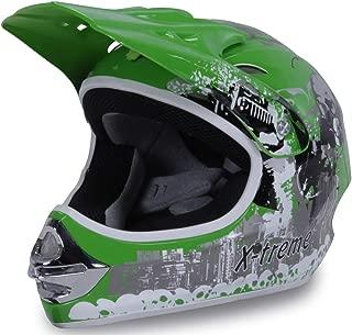 SICOFD Motocross Motorradhelm Helm Unisex Erwachsener Offroad Helm f/ür Junge Erwachsene Abstieg Kinder Fullface Integralhelm ATV Helm Moped Helm 52-60CM