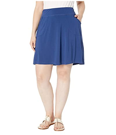 Extra Fresh by Fresh Produce Plus Size City Skort (Moonlight Blue) Women