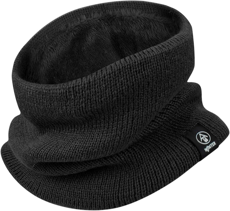 heekpek Bufanda para Hombre Mujer Calentador de Cuello Grueso Doble Capa Esqu/í Moto
