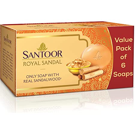 SANTOOR Royal Sandal, 6x125g