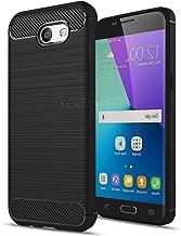 Ultra-Thin Slim Crystal Soft TPU Protective Case Cover Skin for Samsung Galaxy J3 Prime SM-J327T1 MetroPCS Phone - Black