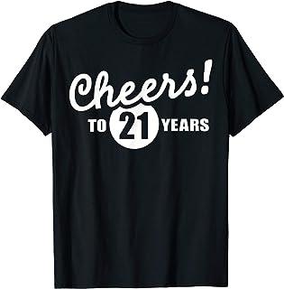 Best Cheers to 21 years birthday T-Shirt Review