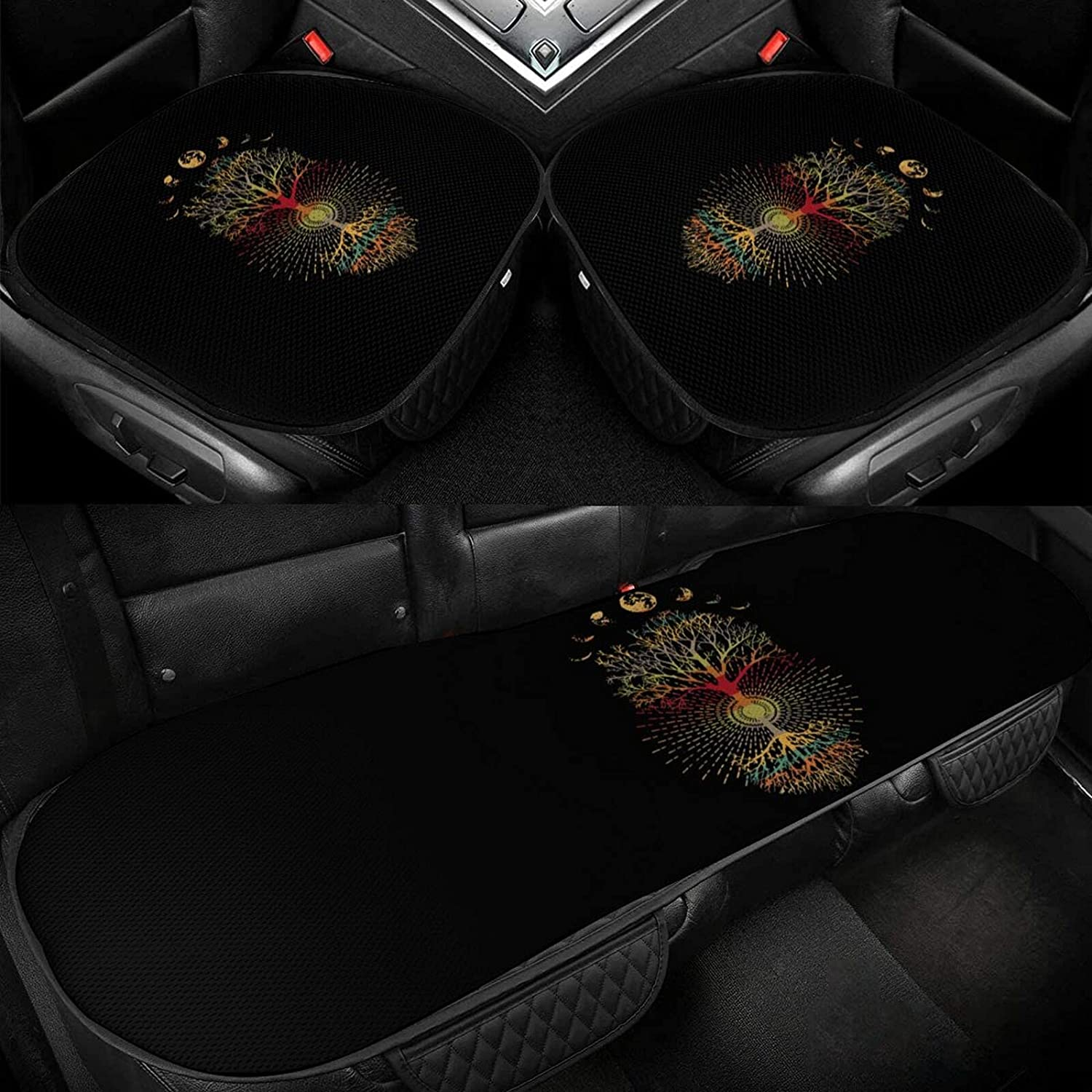 Phases of free shipping The Moon Car Ice Silk Cushion Seat Brea In stock