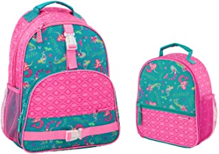 Stephen Joseph Mermaid Print Backpack and Lunch Box for Kids