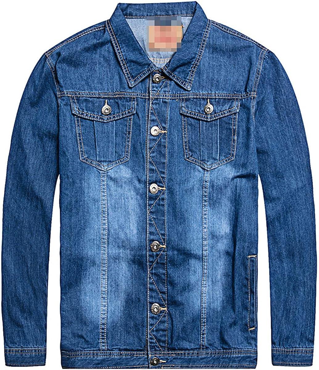 Men's Oversized Fashion Design Spring Plus Size Clothing Casual Jacket Men's Denim Jacket