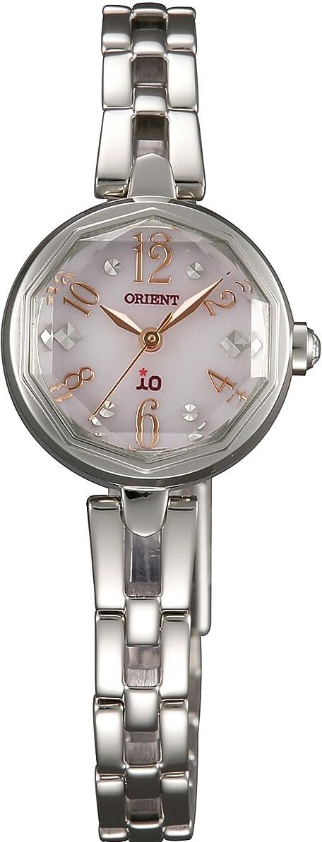 部族優れました着飾る[オリエント]ORIENT 腕時計 io イオ スイートジュエリー ソーラー WI0171WD レディース