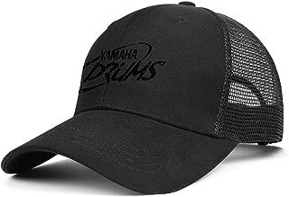 Yamaha-Drums-Music-Logo- Womens Mens Washed Cap Hat Mesh Baseball Cap Hip Hop Cap Military Cap Golf Bucket Cap Dad Cap