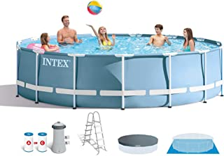 Intex 15 Feet x 48 Inches Prism Frame Pool Set