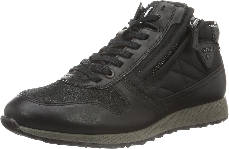ECCO Women's Sneak Fashion Sneaker Zip Shipping free included
