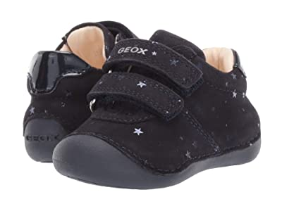 Geox Kids Jr Tutim 34 (Infant/Toddler) (Dark Blue) Girls Shoes