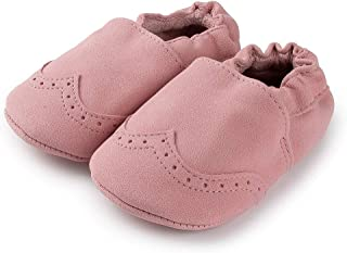 Sayoyo Baby Moccasins Toddler Soft Sole Leather Animals Cozy Shoes 0-24 Months