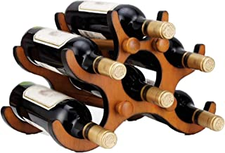Wine Rack Wine Rack Wine Rack Wine Bottle Rack Wine Cabinet Solid Wood Wine Rack Household Personality Wine Bottle Holder ...