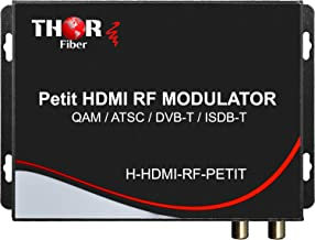 HDMI to Coax Modulator Send HDMI Video Source up 1080p to All TVs as HD CATV QAM or ATSC Channels