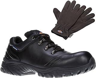 Dickies Mens Workwear Urban Safety Shoe Black FC9511B