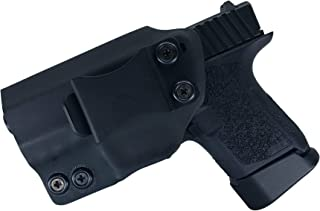 Watchdog Tactical, Polymer 80 Sub Compact (Glock 26/27) Holster, Left-Handed, Black, IWB Only