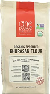 One Degree Organic Foods Sprouted Khorasan Flour Organic, 32 Ounce