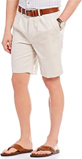 Roundtree & Yorke Pleated Washed Chino Shorts S85HR201, S85HR201B