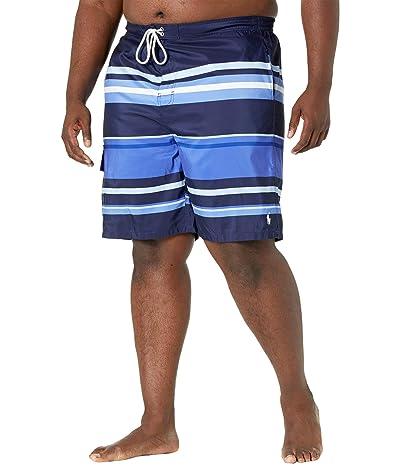 Polo Ralph Lauren Big & Tall Big Tall Kailua Striped Swim Trunks