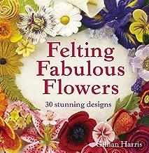 felt flower pattern book