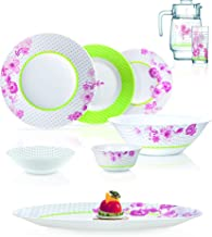 Luminarc Dinnerware Sets,Glass,Multi Color,80PSC, N7744