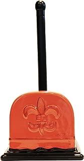 Tuscany Fleur De Lis Collection, Napkin & Paper Towel Holder in Burnt Orange, 82077