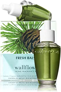 Bath & Body Works Fresh Balsam Wallflower Refill Signature Collection 2 bulbs