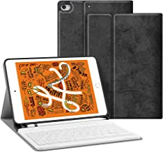 JUQITECH Smart Keyboard Case 7.9 inches for iPad Mini 5 2019(5th Gen) iPad Mini 4 2015, Auto Sleep/Wake Detachable Wireless Bluetooth Keyboard Magnetic 7.9 Smart Case Cover with Built-in Pencil Holder