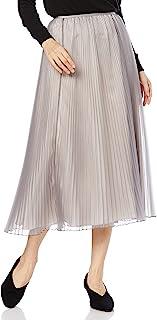 [ミラオーウェン] オーガンジーロングフレアプリーツスカート 09WFS214013 レディース
