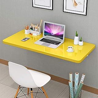 Table de Salle à Manger Pliante de Cuisine, établi Mural Robuste, Support pour Ordinateur Portable, Bureau Pliant, Chambre...