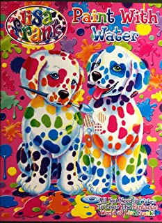 Lisa Frank Paint with Water Activity Book - 1 Pack