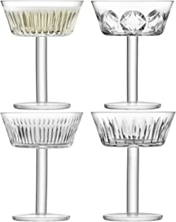 LSA International g1405-08-194 Tatra Champagne/Cocktail Glass, Clear