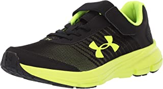 Under Armour Kids' Pre School Rave 2 Print Alternate Closure Sneaker