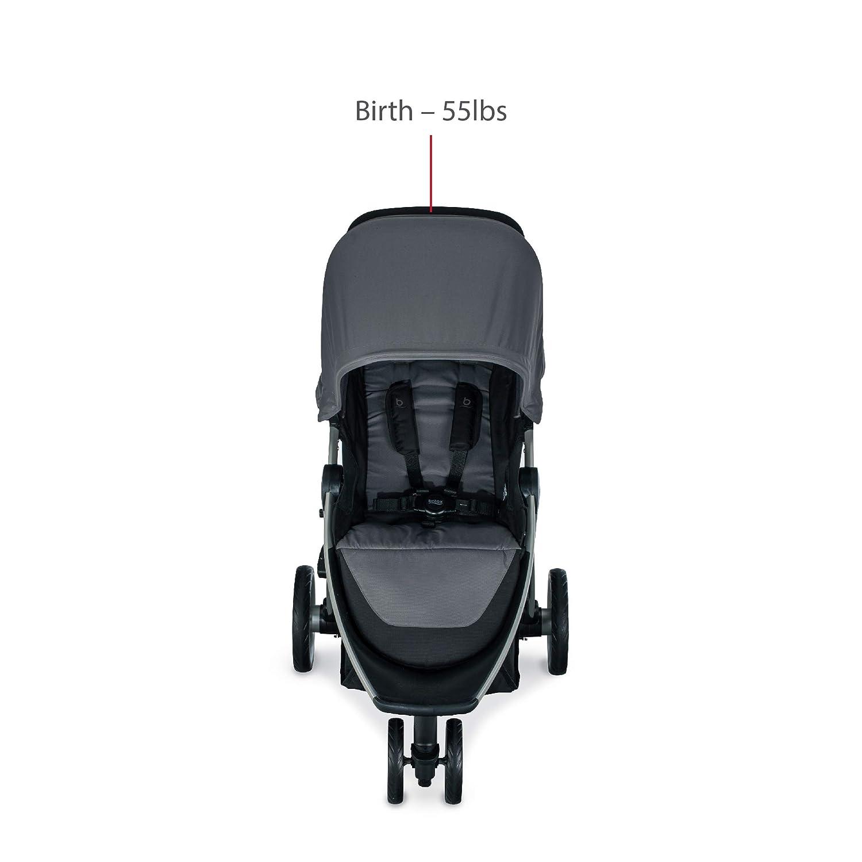 Britax B-Lively Lightweight Stroller, Dove