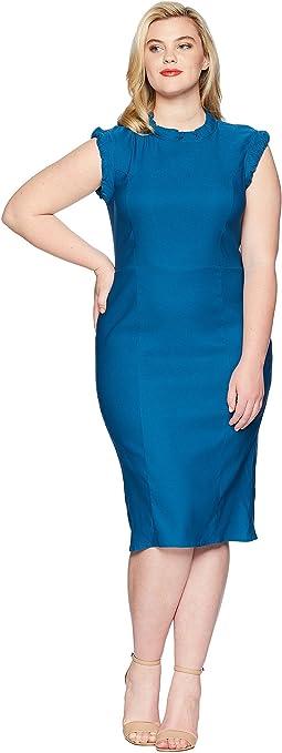 Unique Vintage Plus Size Laverne Wiggle Dress