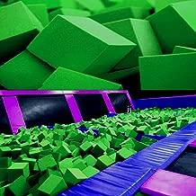 Isellfoam Foam Pits Cubes/Blocks 68 pcs. (Lime Green) 8