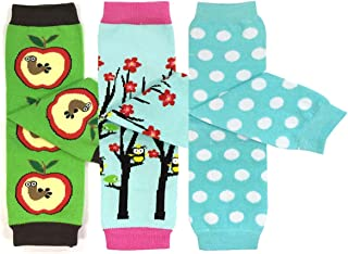 Bowbear Baby 3-Pair Fun and Playtime Leg Warmers